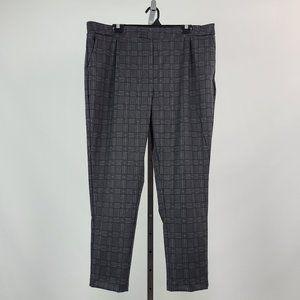 Le Chateau Check Print Grey Slim Pants Size XXL